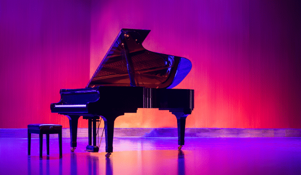 piano as the first instrument