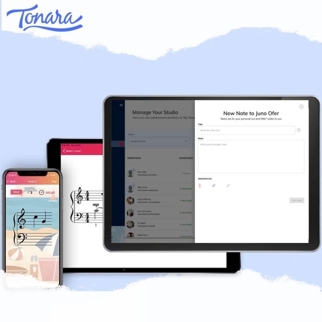Note Quest and Tonara