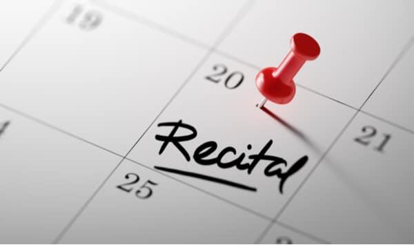 post recital season
