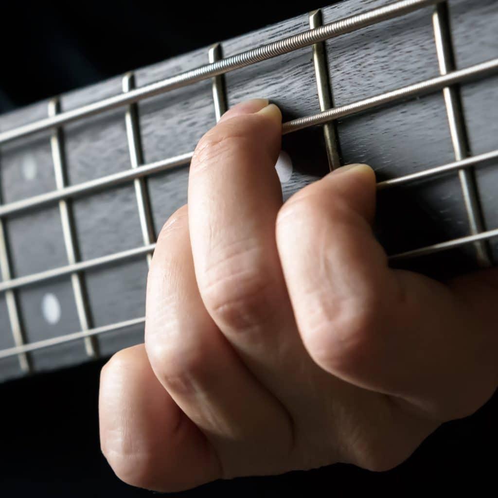 sore guitar fingers