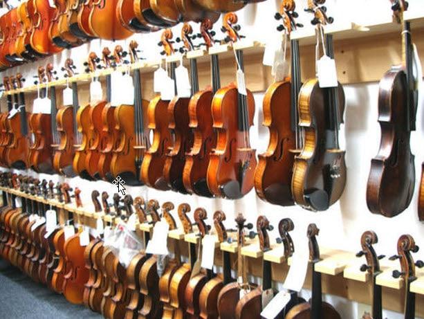 violin store